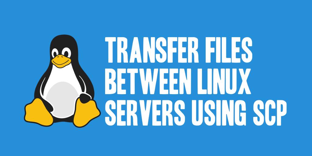 Unix Server to Server File Transfer Using SCP