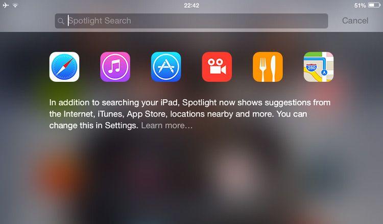 Is iOS 8 Spotlight Search Similar to the Ubuntu Dash?