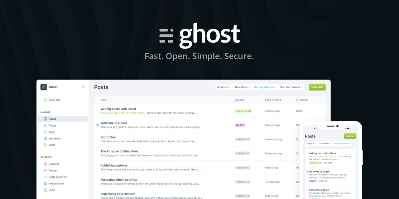 Where to host your Ghost Publication